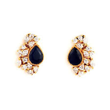 designer stud earrings ear jacket stud earrings designer earrings klaiv
