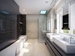 modern bathroom idea bathrooms design bathroom stacked stone tile backsplash and