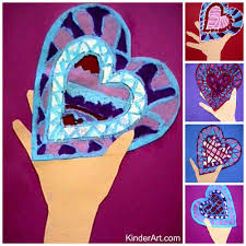 i give you my heart craft for valentine u0027s day monthly seasonal
