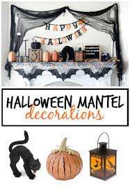 halloween mantel decor hallows eve