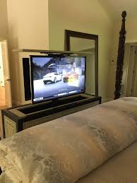 tv lift cabinet foot of bed by tv lift cabinet tronix tv lift cabinet san diego transitional