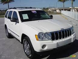 2006 stone white jeep grand cherokee limited 4x4 1248876 photo 7