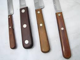 xx kitchen knives set vintage xx kitchen cutlery knives knife w holder cap 242