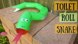 wriggly toilet paper roll snake toilet paper roll crafts for