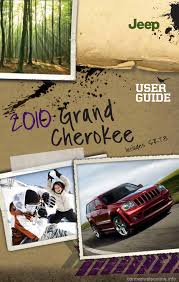 jeep grand cherokee 2010 wk 3 g user guide