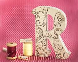 Decorating Wooden Letters For Nursery Wood Letter Decoration Home Decorating Ideas
