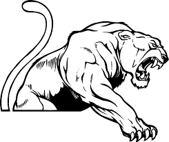 black and white panther clipart cliparts and others art inspiration