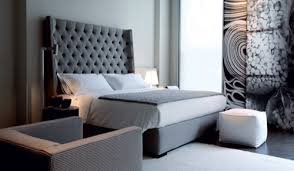 tall headboard beds contemporary bedroom