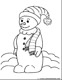 snowman coloring pages pdf frosty the snowman coloring pages thenewcon com