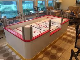 hockey bedrooms hockey bedding sears ice set rink frame for bedroom decor