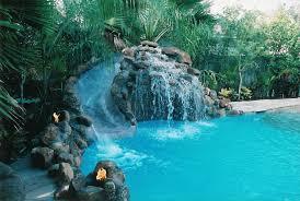 brilliant swimming pools with waterfalls for decorating