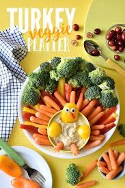 the ultimate turkey veggie platter fork and beans