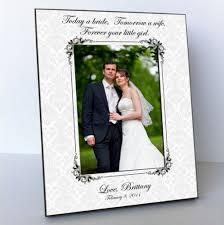 wedding gift for parents picture frame parents wedding gift parents of the