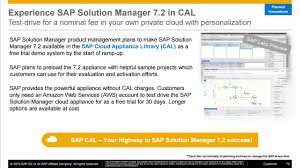 sap solution manager 7 2 architecture and migration to sap hana