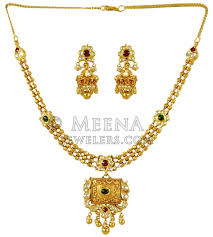 gold antique necklace sets images 22k gold antique necklace set stan24369 22k gold necklace and jpg