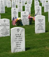 A American Flag Pictures Georgia National Cemetery Free Stock Photo Gravestones And An