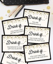 printable drinking games for adults new years eve game drink if game printable new year s
