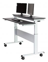 Stands For Laptops On Desk Two Tier Electric Stand Up Desk 60 Inch Stand Up Desk Store