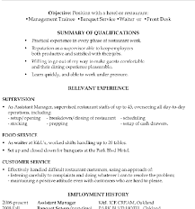 Food Runner Job Description For Resume Surprising Food Runner Resume 7 Food Runner Resume Sample Sample