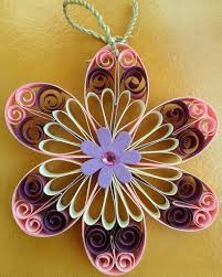 buy flower wall hanging pink shipmycard