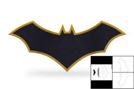 template batman rebirth chest emblem u2013 foam cave
