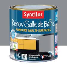 Peinture Pour Meuble Cuisine Et Bain Peinture Cuisine Peinture Rénov Salle De Bains Syntilor Gris Minéral 0 5 L