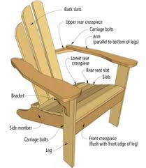 wood adirondack chair building plans free pdf plans