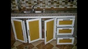 cuisine alu et bois cuisine placards et sous table de cuisines en aluminium