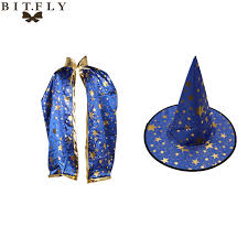 Halloween Birthday Gifts Popular Kids Wizard Hat Buy Cheap Kids Wizard Hat Lots From China
