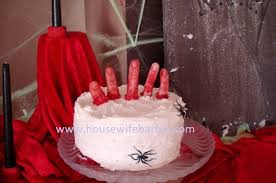 an american housewife great halloween cake idea red velvet cake