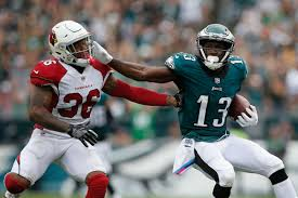 nelson agholor s touchdown in the eagles cardinals was one of