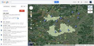 Disney World Google Map by Kml Problems On Google Maps Geographic Information Systems Stack
