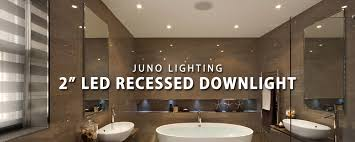 commercial led can lights 2 led recessed downlights from juno lighting at lbc lighting