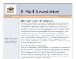 email newsletter template newsletter template word template haven