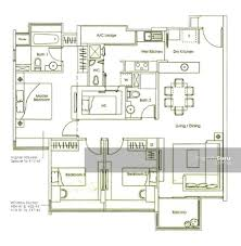 kovan melody floor plan kovan melody 13 kovan road 3 bedrooms 1216 sqft condominiums
