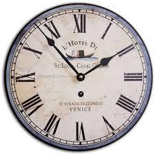 italian hotel wall clock by j thomas made in america clocks