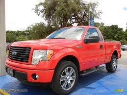 Ford F150 Truck 2005 - 2014 ford f150 stx regular cab in race red c48457 truck n