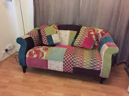 sofa patchwork dfs shout patchwork sofa in ruislip gumtree