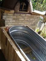Wood Fired Bathtub Little City Farm Affordable Homemade Wood Fired Tub