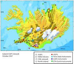Uofa Map Tectonic Geodesy Laboratory Headline News