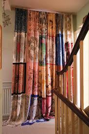 Drapery Shops Maggie Alderson Vintage Scarf Curtain Amazing Vintage Scarfs Are