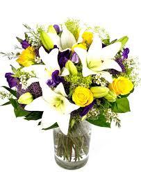 weekly flower delivery weekly flower delivery purples creams yellows