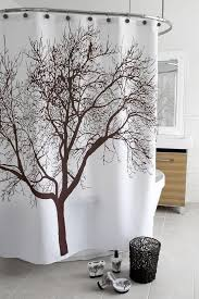 brown tree shower curtain shower curtains bath linens linens