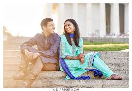 photographers in dc lakshmi and karthik s engagement session lincoln memorial