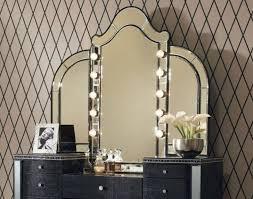 Lighting For Vanity Makeup Table Incredible Bedroom Vanity With Lights And Bedroom Lighting