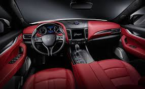 maserati interior maserati u0027s first suv will be diesel only for the uk by car magazine