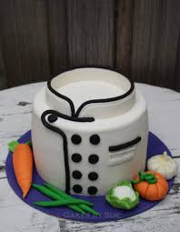 Chef Decor Collection Chef Hat Chefs Hat Cake With Fondant Edible Vegetables