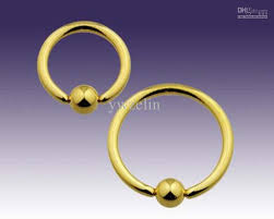 gold piercing rings images 2018 solid gold rings eyebrow lip bars ear tragus ring earrings jpg
