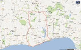 Accra Ghana Map The Republic Of Ghana Facts And Figures Women Of The World