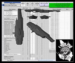 Spreadsheet Builder Ship Calculator Emerald Coast Skunk Works